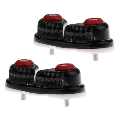 2pcs Fast Entry Boat Ball Bearing Cam Cleat Sailing Hardware