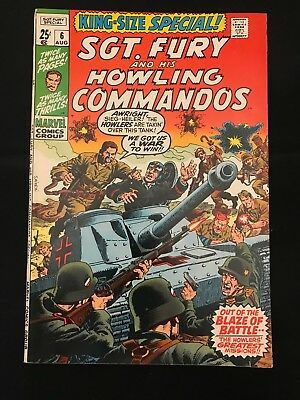 Sgt. Fury And His Howling Commandos King-Size Special (Annual) #6 Vg/fn