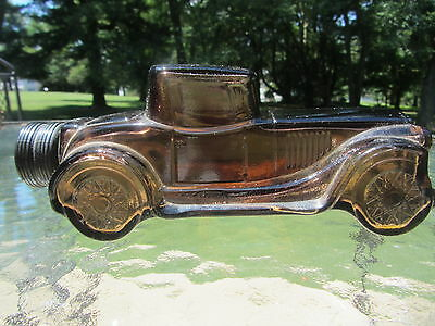 Vintage AVON STERLING SIX TRIBUTE CAR DECANTER (empty) - COLLECTIBLE!