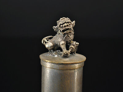 Pair of Lime boxes (2 pc.), Chinthe Lion, Foo Dog, Shishi, Komainu, Burma, China