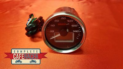 Koso D55 Speedometer Black