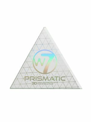 W7 Prismatic 3D Highlighting Eyes & Face 4 Colour Palette