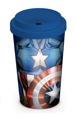 Marvel Retro, Captain America Torso Coffee To Go Becher