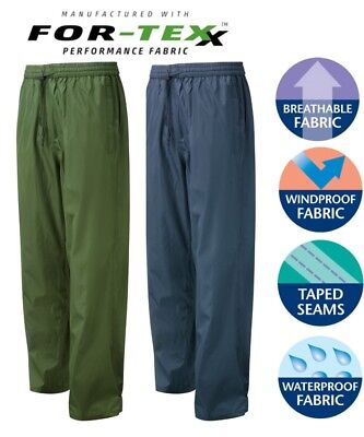 Fortress Tempest PREMIUM Fortex  WATERPROOF Breathable Windproof OVER  Trousers