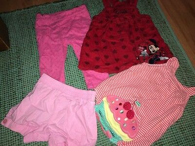Baby Girls Clothes Lot Size 0 Sprout Target Disney Minnie Mouse