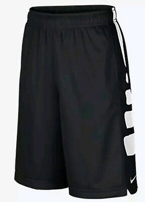 NEW IN PACKAGING Nike Elite Youth Boys Shorts Size Large L Black Basketball