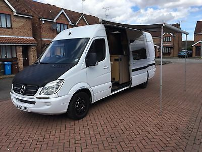 Mercedes Sprinter 313 Cdi LWB 3 BERTH Camper SHOWER KING SIZE BED
