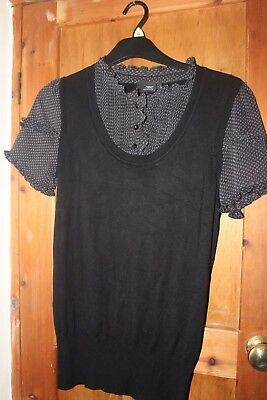 Next Maternity Blouse and Jumper Top Size 12
