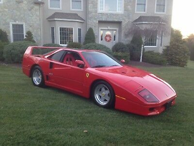 1986 Replica/Kit Makes Ferrari F40  Ferrari F40 Replica/Kit Car
