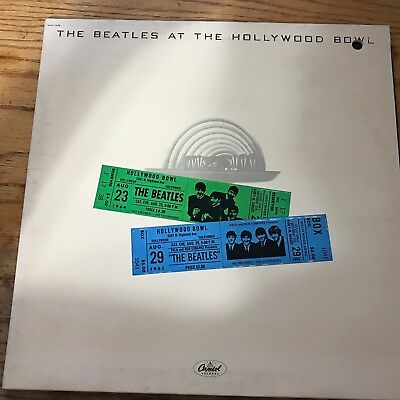 ROCK-N-ROLL LP RECORD BLOWOUT: The Beatles at the Hollywood Bowl LIVE
