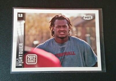 Dont'a Hightower Patriots RC Rookie #135 Sage Hit 2012 NFL Football Card