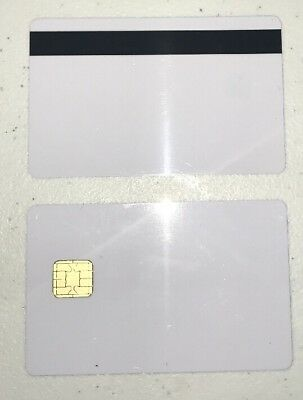 J2A040 Chip JAVA JCOP21  NXP Cards w/ HiCo 2 Track Mag Stripe  - 10 Pack!!