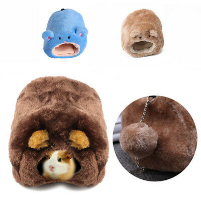 Small Animal Hamster Rat Hedgehog Squirrel House Guinea Pig Bed Nest Pad Cage