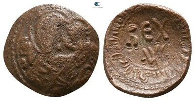 Savoca Coins Medieval Bronze Coin Maria 1,10 g / 14 mm /BJB2877