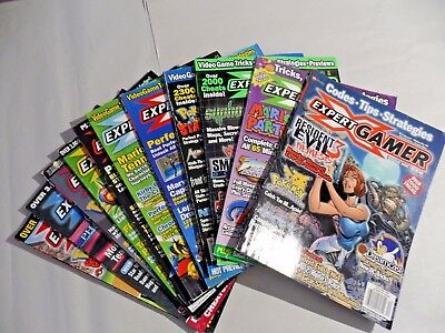Lot of Expert Gamer Magazines, Dec '99-May '01 (from Collector's Estate)