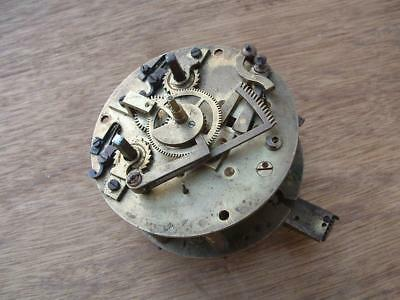 Antique French stiking clock movement for restoration