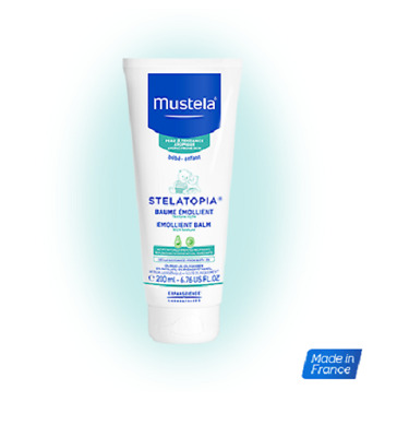Mustela Stelatopia Emollient Cream 200 ml / 6.76 fl.oz