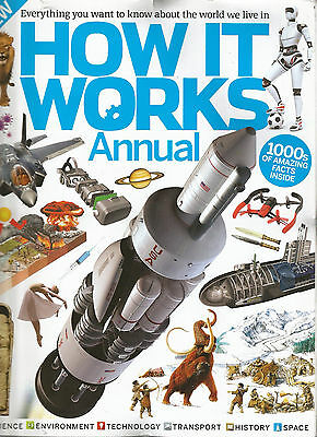1000s AMAZING FACTS # How it Works Annual Vol. 7 # SPACE # ENVIRONMENT # HISTORY