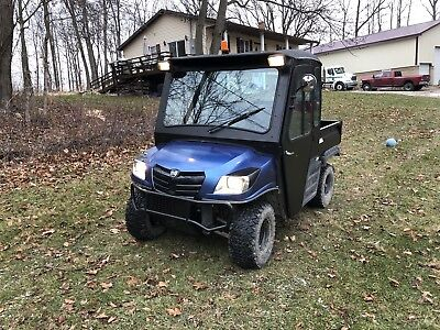 2013 Cushman 1600xd Utility Vehicle (utv) Diesel side by side
