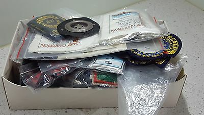 Vintage  Assorted  Fashion Denim Patches And Labels