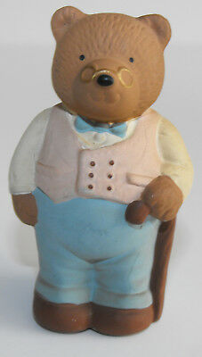 """Vintage 1987 ENESCO Lucy & Me - Tobias Bear 2 3/4"""" tall Figurine Hard to Find"""