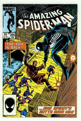 Amazing Spider-Man #265 Vf 8.0 1St Silver Sable Comic 1985