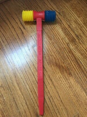 Vintage Toy Guillem Martillo Musical Pit Pit Hammer Sound Toy Works Rare
