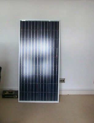 NEW 150W 12v Energy+ Solar Panel - Poly crystalline - MC4 Cables - TUV ISO UK