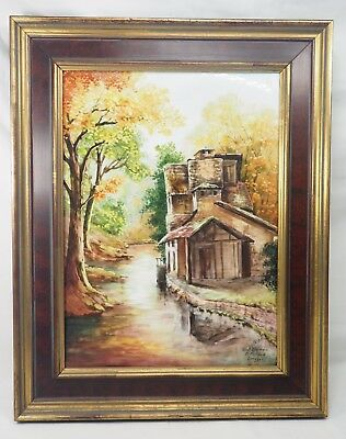 Limoges Hand Painted Porcelain Plaque by Ribes P. Pastaud EX - Originally $2,500