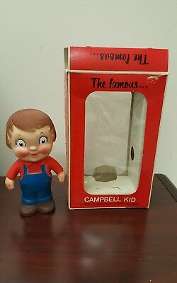 The Famous Campbell Kid Soup Figures vintage Product people  vinyl