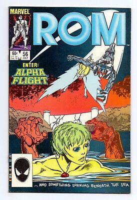 Marvel Comics: Rom #56 & #57 - Both Issues!
