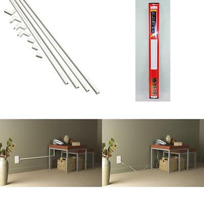 TV CORD COVER Kit Wire Tool Tunnel Crafts Hide Part Wall Mount Home ...