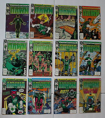 GREEN LANTERN EMERALD DAWN (1989-1990 V1 #1-6) + (1991 V2 II #1-6 DC Comics) VF