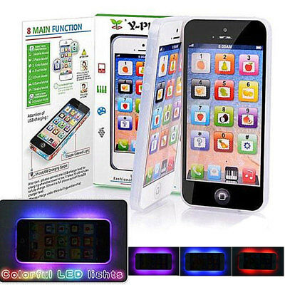 Y-Phone Kids Childrens Baby Educational Toy Learning English Game Touch Screen