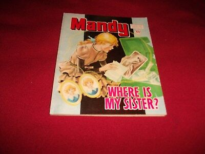 RARE EARLY MANDY PICTURE STORY LIBRARY BOOK from 1970's - never read:vg condit!