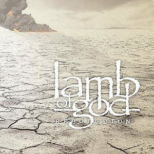 LAMB OF GOD Resolution JAPAN CD WPCR-14319 2012