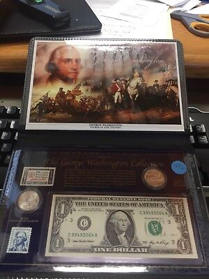 The George Washington Collection Series II US Commemorative Gallery Coin Set