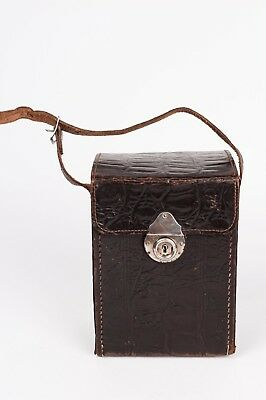 Vintage Leather case for plate camera