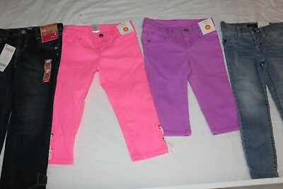 Girls jeans & leggings size 4 Gymboree Place Jeggings x 4 light weight jeans