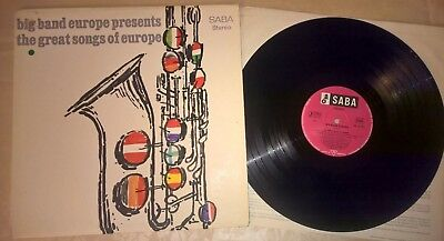 LP Big Band Europe presents the Great Songs of Europe (1965) Saba SB 15053