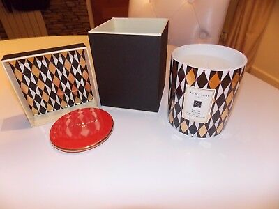 Jo Malone Orange Bitters Harlequin Candle Limited Edition