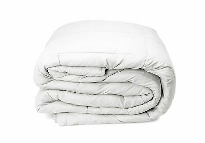 Royal Comfort 400GSM 233 Thread Count Goose Feather Down Bed Quilt Size Double