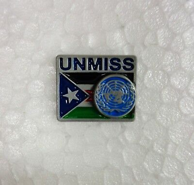 Spilla/Pin UNMISS - UNITED NATIONS MISSION IN SOUTH SUDAN - 2° Tipo (Originale)