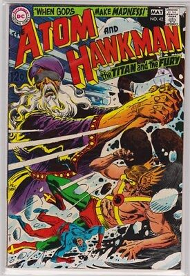 DC Comics The Atom and Hawkman #42