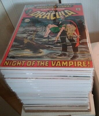 Tomb of Dracula #1-69 Missing 12 issues &#70 , Giant size #1, 2, 3, 4, 5, extr 5