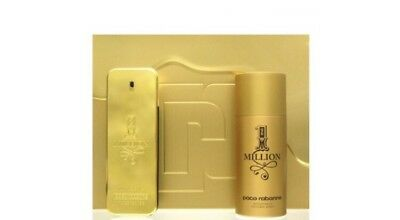 Paco Rabanne One 1 Million Set - Edt 100 Ml + Deo Spray Deodorant 150 Ml