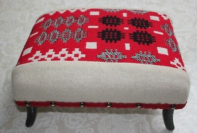 Welsh tapestry stool.