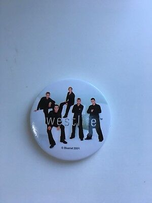 Vintage Westlife Badge