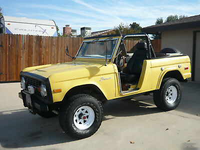 1973 Ford Bronco  1973 Ford Bronco