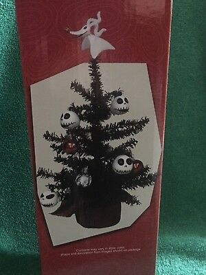 disney tim burtons the nightmare before christmas decorated christmas tree nbc kcare - The Nightmare Before Christmas Decorations